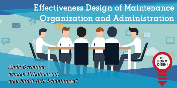 training-effectiveness-design-of-maintenance-organization-and-administration