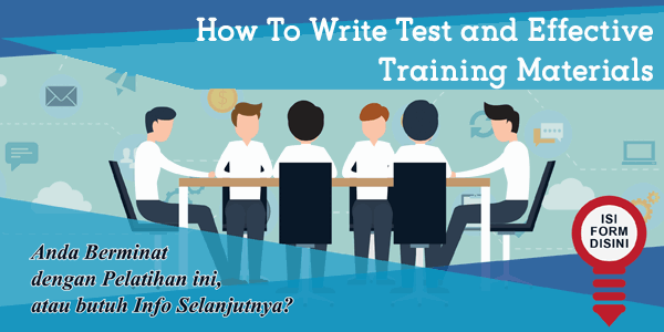 training-how-to-write-test-and-effective-training-materials