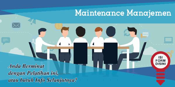 training-maintenance-manajemen