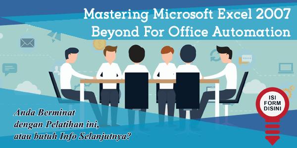 pelatihan-menguasai-microsoft-excel-2007-di luar-untuk-kantor-otomatisasi