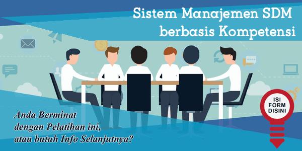 training-sistem-manajemen-sdm-berbasis-kompetensi