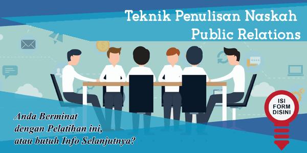 training-teknik-penulisan-naskah-public-relations