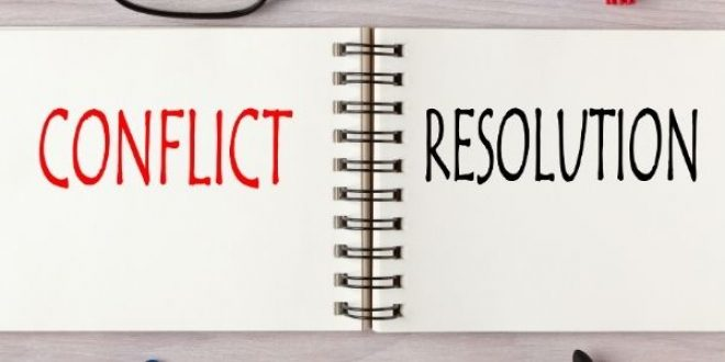 Strategy for Conflict Resolution