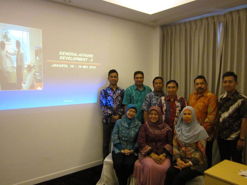 Pelatihan General Affairs Management Development Program (17-18 May 2016)