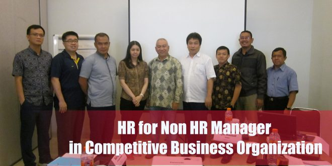 Training HR for Non HR Manager in Competitive Business Organization