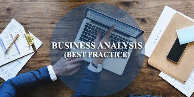 Training Business Analysis (Best Practice)
