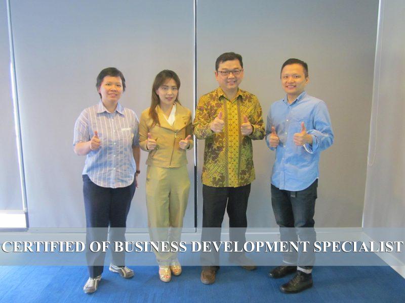 Training Certified of Business Development Specialist
