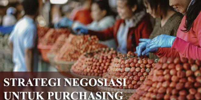 Pelatihan Strategi Negosiasi Untuk Purchasing