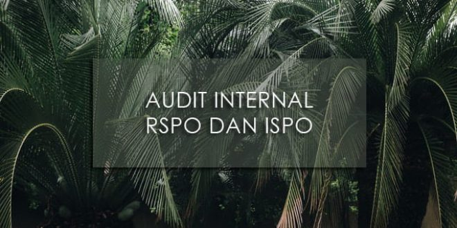Pelatihan Audit Internal RSPO dan ISPO