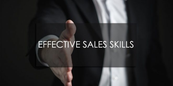 Training Effective Sales Skills