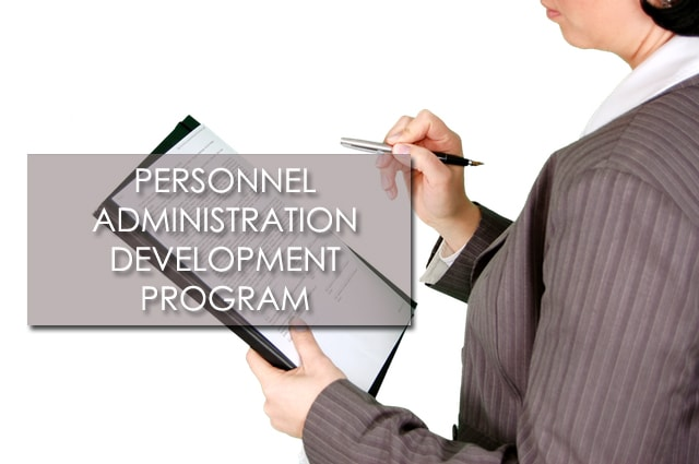 Personnel Administration Development Program
