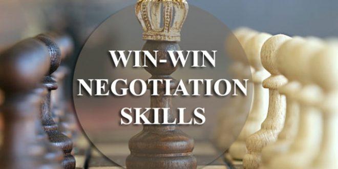 Training Win-Win Negotiation Skills