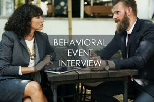 Training Behavioral Event Interview