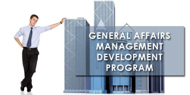 Training General Affairs Management Development Program