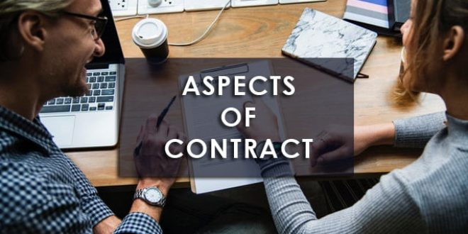 Training Aspects Of Contract