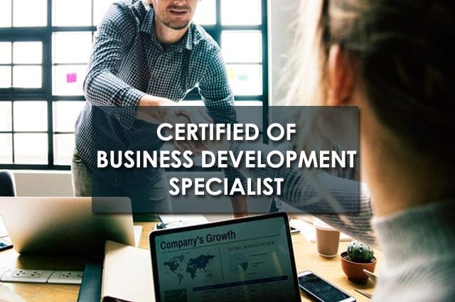 Pelatihan Certified of Business Development Specialist