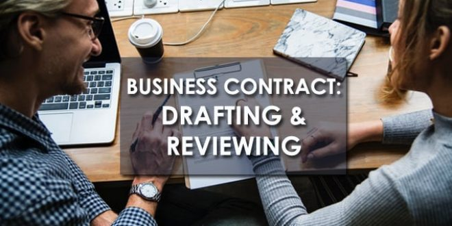 Training Business Contract : Drafting and Reviewing