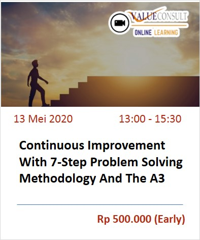 Continuous Improvement With 7-Step Problem Solving Methodology And The A3