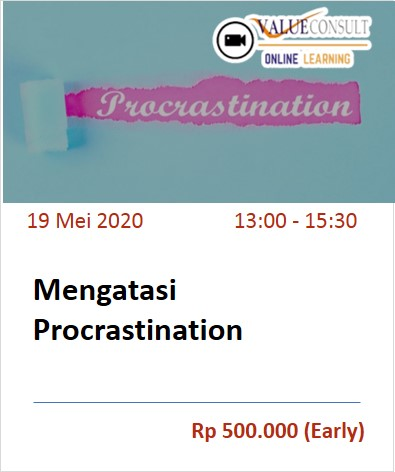 Mengatasi Procrastination