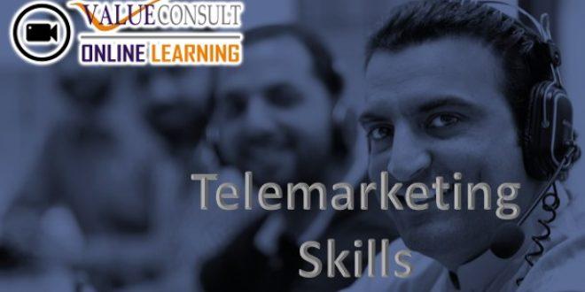 Online Training : Telemarketing Skills