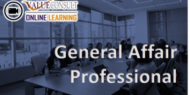 Online Training : General Affair (GA) Professional
