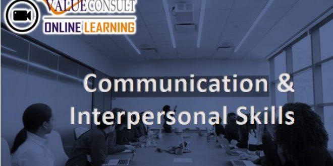 Online Training : Communication & Interpersonal Skills