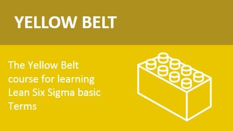 training lean six sigma yellow belt