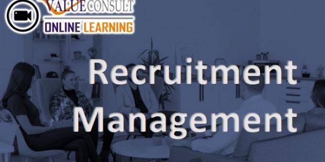 Online Training :Pelatihan Recruitment Management