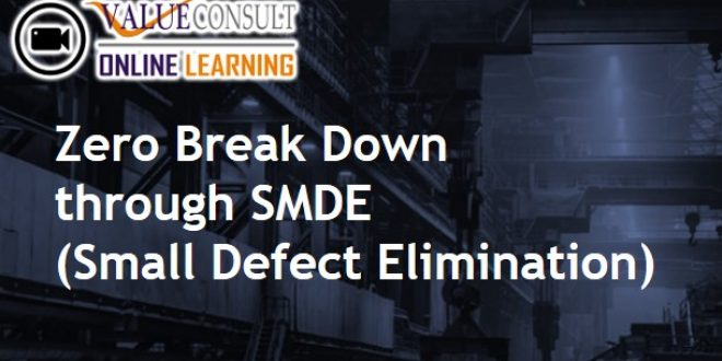 Online Training : Zero Break Down through SMDE (Small Defect Elimination)