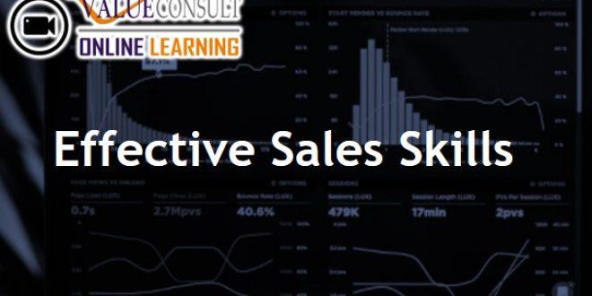 Online Training : Effective Sales Skills