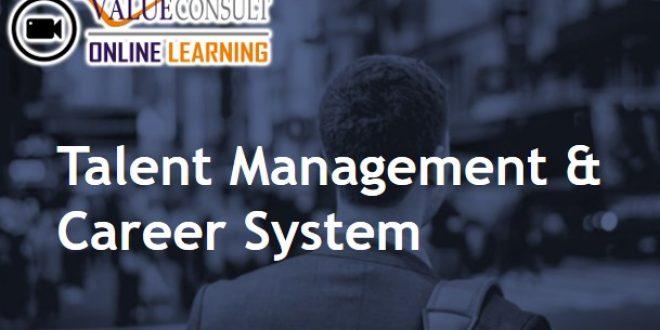 Online Training : Talent Management & Career System