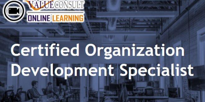 Online Training : Certified Organization Development Specialist