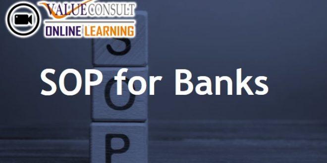 Online Training : SOP for Banks