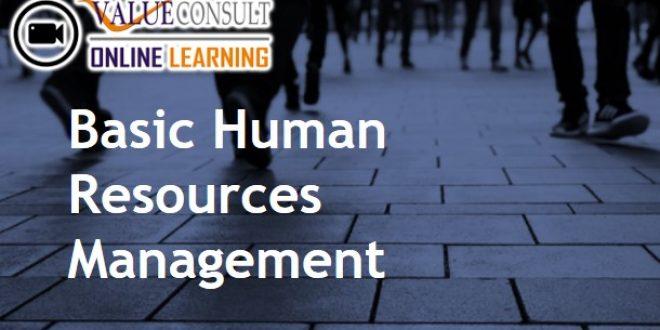 Online Training : Basic Human Resources Management