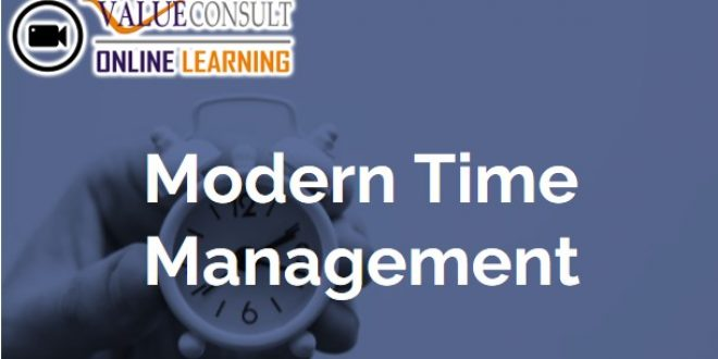 Online Training : Modern Time Management