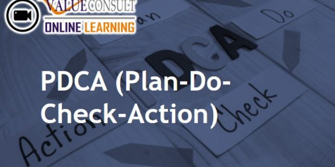 Online Training : PDCA (Plan-Do-Check-Action)